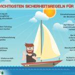 10 goldene Sicherheitsregeln für den Freizeitskipper