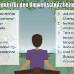 10 goldene Regeln für das Verhalten von Wassersportlern in der Natur